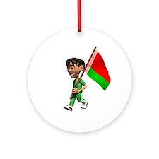 Belarus Boy Ornament (Round)