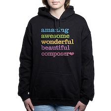 Amazing Composer Women's Hooded Sweatshirt