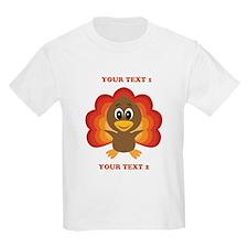 Personalized Baby Turkey T-Shirt