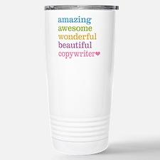 Amazing Copywriter Travel Mug