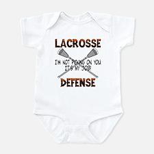 Lacrosse Defense Infant Bodysuit