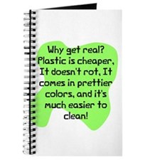 Plastic is cheaper real Journal