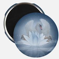 Swan Song Fantasy Art Magnet Magnets