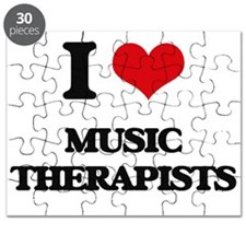 I love Music Therapists Puzzle