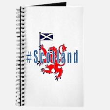 Hashtag Scotland Blue Tartan Journal