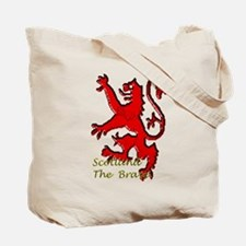 Hashtag Scotland Blue Tartan Tote Bag