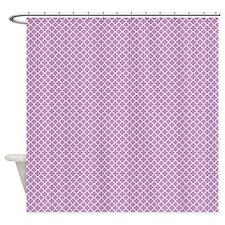 Park Avenue Purple Shower Curtain