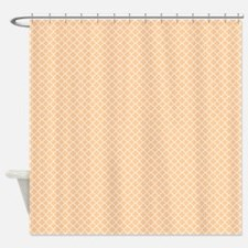 Park Avenue Peach Shower Curtain