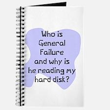 General failure disk Journal
