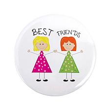 "Best Friends 3.5"" Button"