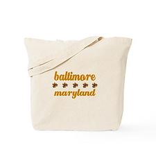 Baltimore Daisies Tote Bag