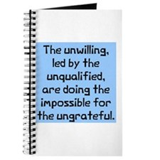 unwilling unqualified Journal