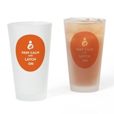 Cool Keep calm latch on Drinking Glass