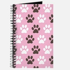 Paw Print Pattern Journal