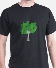 Lettuce On Fork T-Shirt