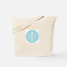 Unique Keep calm call mom Tote Bag