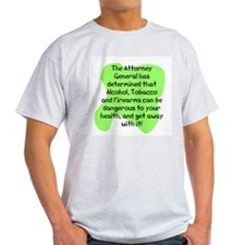 Attorney genral has T-Shirt