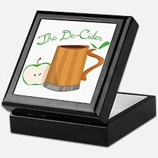 The De-Cider Keepsake Box