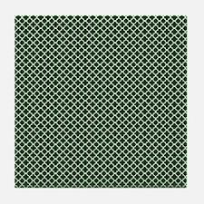Park Avenue Emerald Tile Coaster