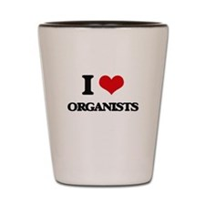 I love Organists Shot Glass