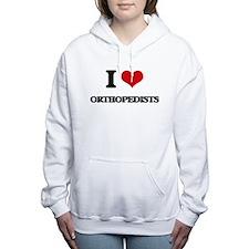 I love Orthopedists Women's Hooded Sweatshirt