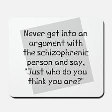 Never Argument Mousepad