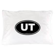 Utah UT Euro Oval Pillow Case
