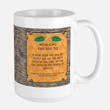 Large Wood Elf Tea Mug