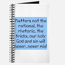 Matters not rational Journal