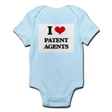 I love Patent Agents Body Suit