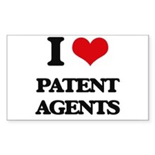 I love Patent Agents Decal