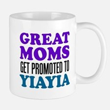 Promoted To YiaYia Drinkware Mugs