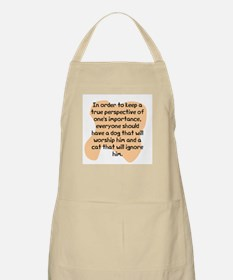 True perspective of BBQ Apron