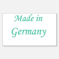 Germany Rectangle Decal