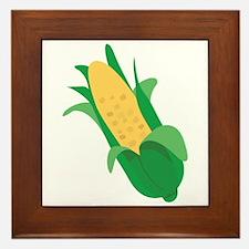 Ear Of Corn Framed Tile