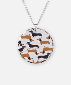 Cute Dachshunds Necklace