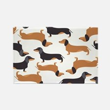 Cute Dachshunds Magnets