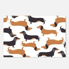 Cute Dachshunds Postcards (Package of 8)