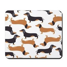 Cute Dachshunds Mousepad