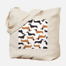 Cute Dachshunds Tote Bag