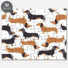 Cute Dachshunds Puzzle