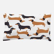 Cute Dachshunds Pillow Case