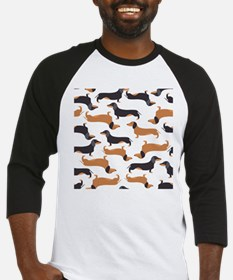 Cute Dachshunds Baseball Jersey