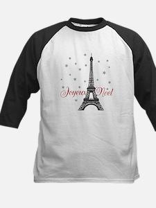 Paris Christmas Baseball Jersey