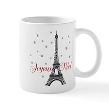 Paris Christmas Mugs