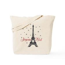 Paris Christmas Tote Bag