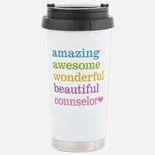 Amazing Counselor Travel Coffee Mug