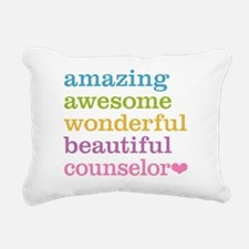 Amazing Counselor Rectangular Canvas Pillow