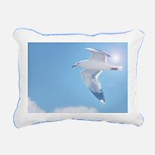 Unique Seagull Rectangular Canvas Pillow