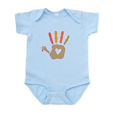 Turkey Hand Print Body Suit